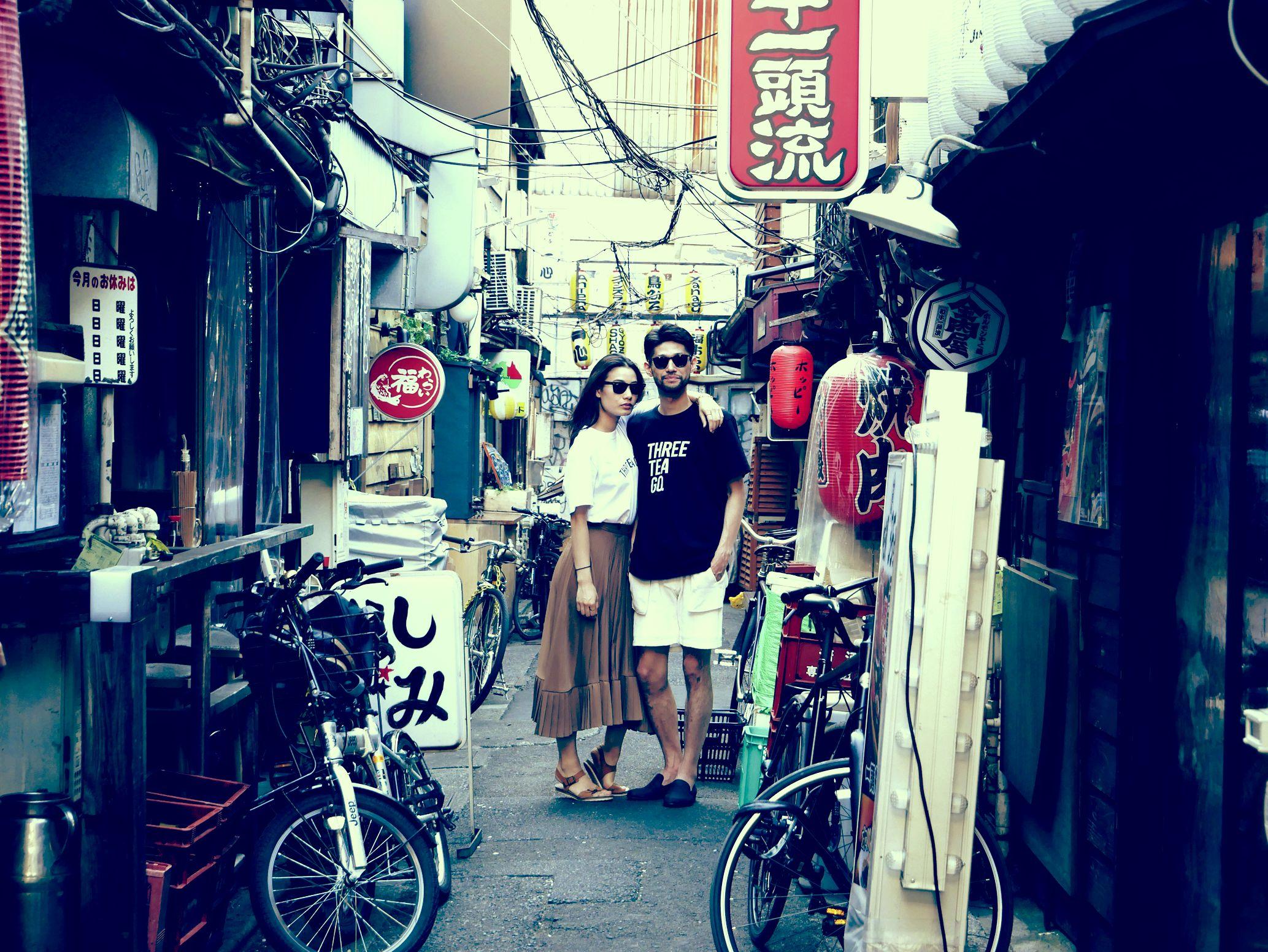 三軒茶屋の街を歩く